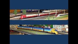 From the TEE to the Northlander, MÄRKLIN, 37500, 3071, NS, CFF, SBB, modelleisenbahn, Canada