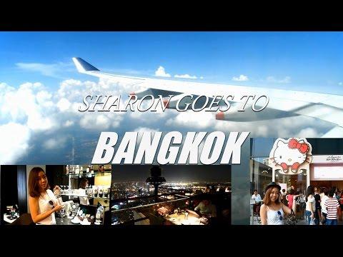 Sharon Goes To Bangkok Day One