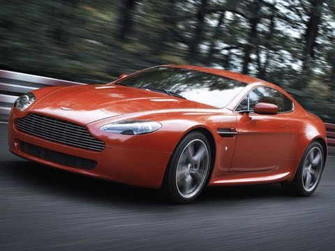 Aston Martin N400 V8 Vantage (2008) CAR review