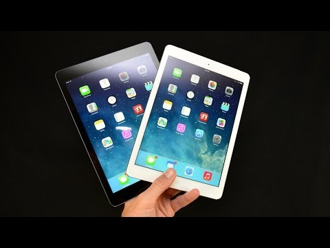 Apple iPad Air (White vs Black): Unboxing & Overview