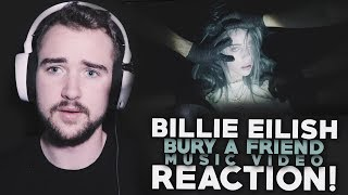BILLIE EILISH | Bury A Friend | Music Video | Reaction!