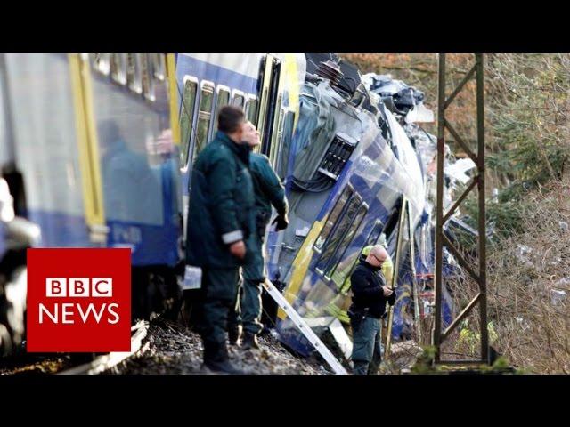 Germany train crash: Several killed near Bavarian town of Bad Aibling - BBC News