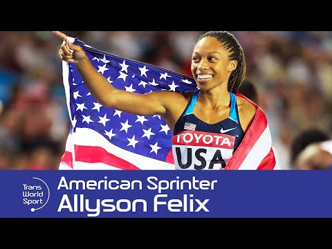 Allyson Felix on Trans World Sport