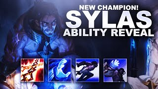 Sylas the Unshackled! NEW CHAMPION REVEAL and REACTION!