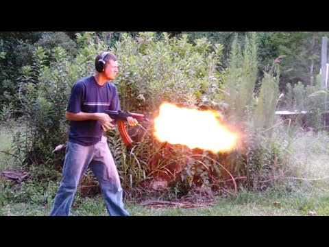 AKS-74u Muzzle Flash (5.45x39mm)