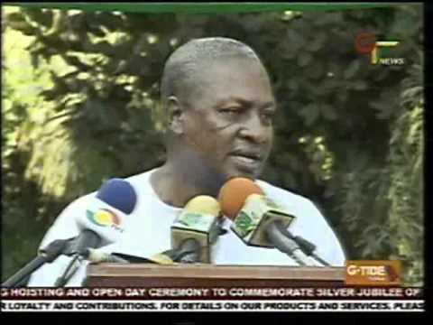 Ghana's AAG Team Call On Vice President