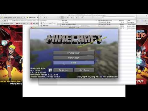 Como Instalar Mods en Minecraft 1.7.x [MAC] [FUNCIONA]