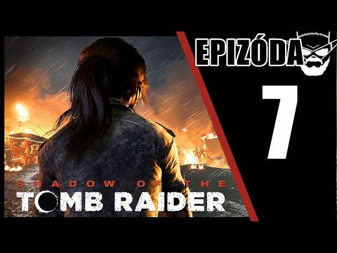 NOVÝ REVOLVER ! - Shadow of the Tomb Raider / 1080p 60fps / CZ/SK Lets Play / # 7