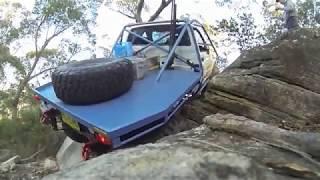 Team Bullet Toyota hilux rock crawler  4x4 3 .0 turbo diesel offroad Arb airlockers Snake racing