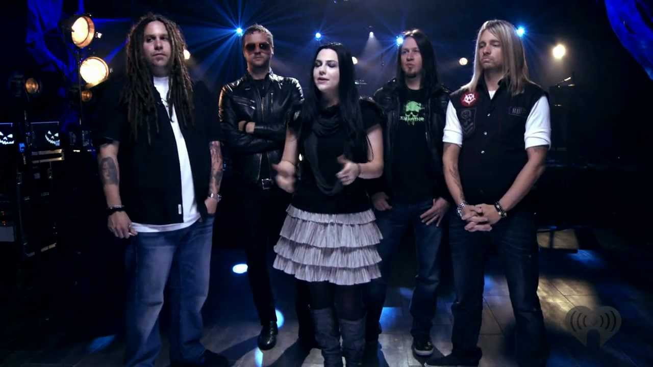 What You Want - Evanescence live Z100 (Halloween) - YouTube