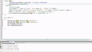 C++ 11 Library: Weak Pointers