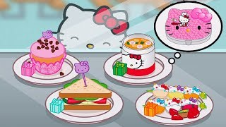 Fun Cooking Hello Kitty Lunchbox - Kids Learn To Prepare Food - Play Fun Kitchen Game For Children