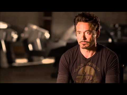 The Avengers: Official On Set Interview Robert Downey Jr. [HD]