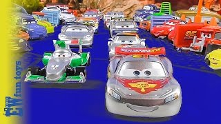 Disney CARS RACE McQueen Francesco 2015 Disney Cars Story Set Toys