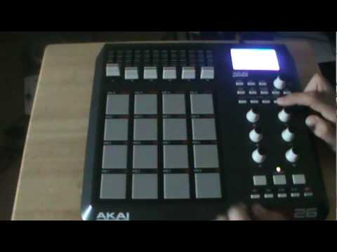 AKAI MPD26 quick look