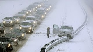 Top Ultimate Winter Stupid  Drivers Fails