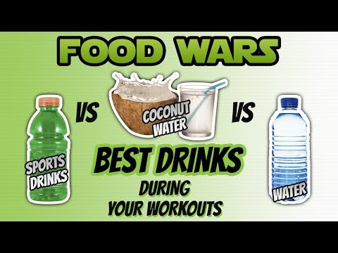 Food Wars: Coconut Water vs Water vs Sport Drinks