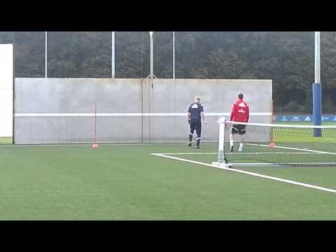 20140927 Training Rafael van der Vaart
