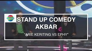 Arie Kriting Vs Ephy (Stand Up Comedy Akbar)