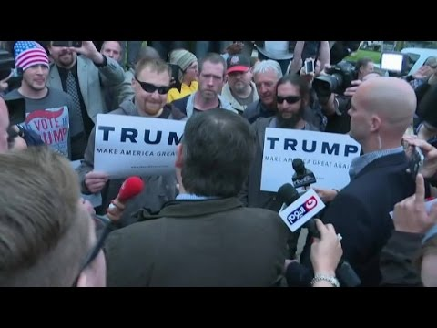 Donald Trump supporter to Ted Cruz: 'We don't w...