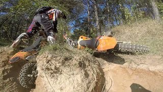 One of the Enduro Days in Belarus! We Are Going Wild on KTM, Yamaha and Suzuki!
