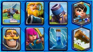 SIEGE GOD DECK (100% WIN RATE!!) Clash Royale
