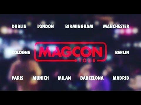 IL MAGCON TOUR ARRIVA IN ITALIA!