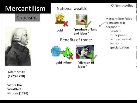 philosophy of mercantilism However, unemployment rate as a macroeconomic exposure did not conform to the philosophy of mercantilism arising from the foregoing, it was concluded that if the nigerian business world should look inward and harness the available economic resources, then the ideas of the mercantilism are likely to be totally relevant.