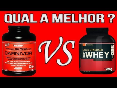 ALÔ MAROMBADA - WHEY PROTEIN OPTIMUM  ON  Vs CARNIVOR MUSCLEMEDS