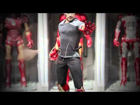 Iron Man 3 Hot Toys Exhibition