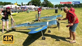 GIANT SCALE Hughes H-1 RACERS RC aircraft [*UltraHD and 4K*]