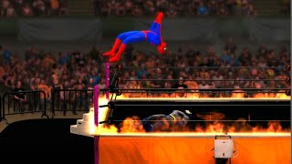 Spider-Man vs Batman - WWE 2K15 - EPIC BATTLE