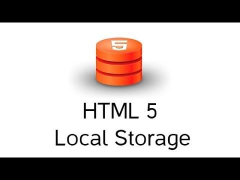 Учимся хранить данные в браузере вместе с HTML5 localstorage