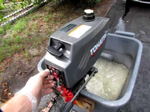 2004 Tohatsu Outboard Motor Youtube