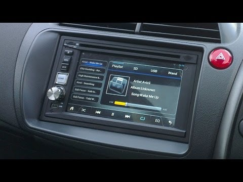 Pure Android 4.1 AN-21 U Car Stereo (Double Din) First Look (Mini Review)