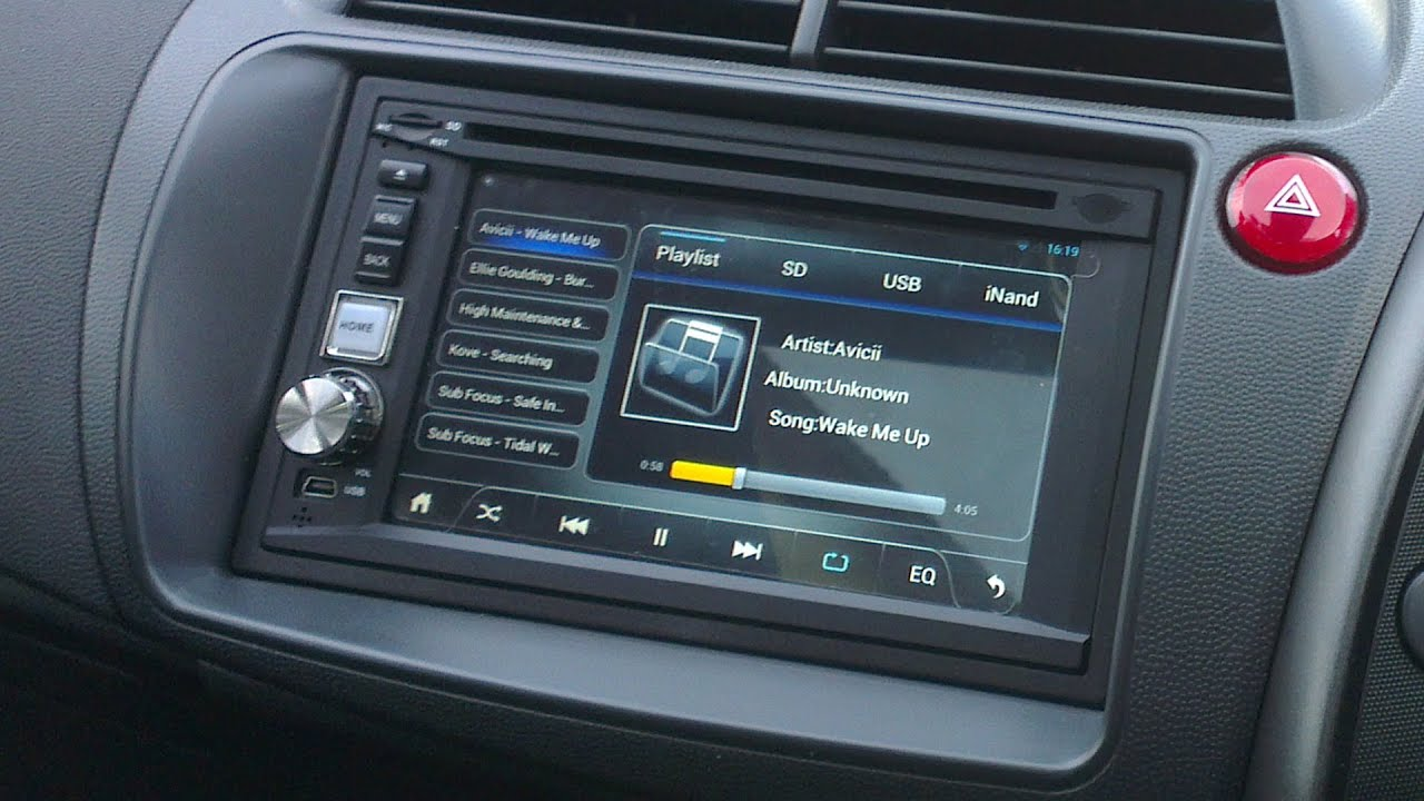 Pure Android  Din Car Stereo