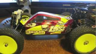 Losi Mini 8ight Upgrades Installed
