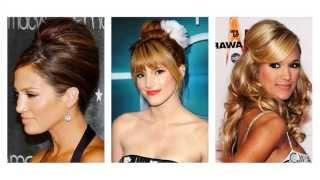 frisure langt hår opsat