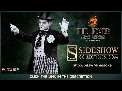 Batman 1989 Hot Toys DX-14 The Joker Mime Version 1/6 Scale Collectible Movie Review