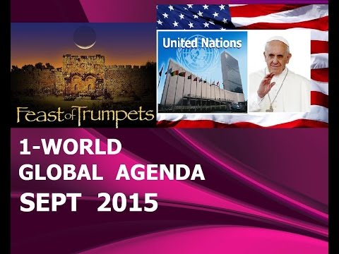 POPE Francis to U.N. for 1-World GOVT Official