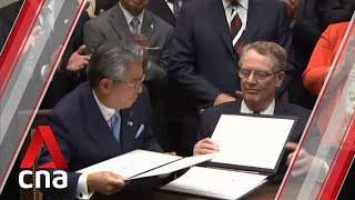 Japan's parliament approves US free trade pact