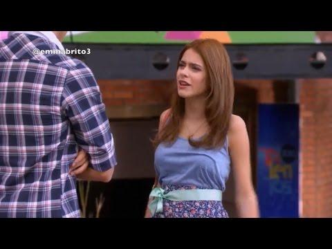 Violetta 1 - Violetta y León discuten y Federico se burla (01x56)