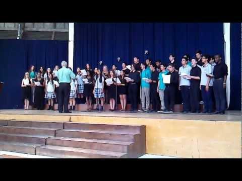 Rice and beans-Coro Juvenil Colegio Monterrey/Coro Poly Prep Country Day School