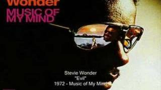 Watch Stevie Wonder Evil video