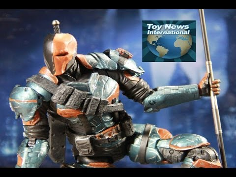 DC Collectibles Batman Arkham Origins Series 2 Deathstroke Figure Review