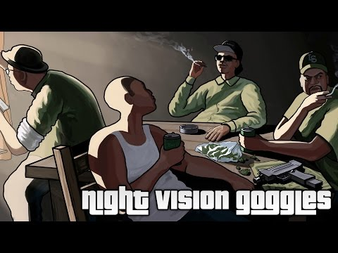 how to get night vision goggles in gta sa