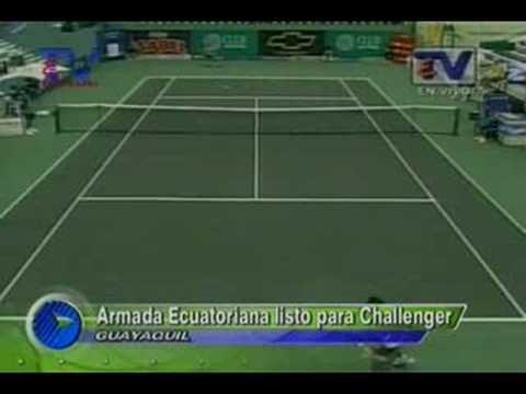Armada ecuatoriana listo para Challenger