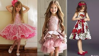 Cute Party dresses for little girls.