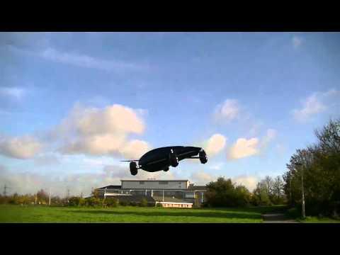 X-4 FPV Fiberglass Quadcopter