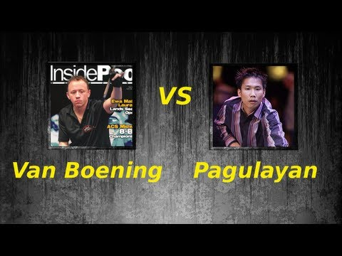 2011 Super Billiards Expo Alex Pagulayan v Shane Van Boening